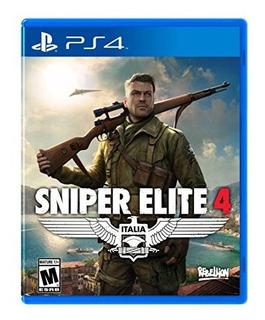 Francotirador Elite 4 - Playstation 4