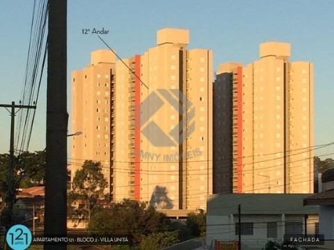 Apartamento Villa Unitá - Bairro Santa Cruz - Americana - Sp. - Ap00201 - 4879250