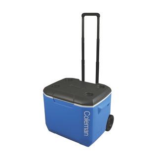 Caixa Térmica Com Rodas 56.7 L Azul 60qt Coleman