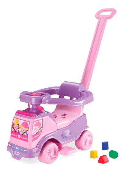 Totoka Eletrônica Plus 8 Em 1 Menina Carrinho Infantil