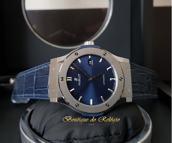 Modelo Classic Fusion Dial Azul Titânio - 42mm