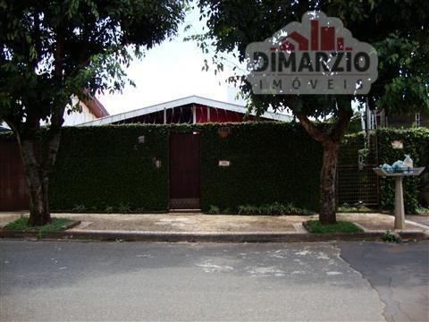 Casa Residencial À Venda, Bairro Jardim São Paulo, Americana - Ca0181. - Ca0181