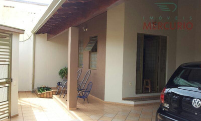 Casa Residencial À Venda, Vila São João Da Boa Vista, Bauru. - Ca2179