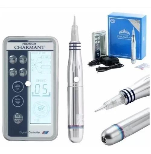 Tebori Eléctrico Dermografo Charmant Premium Microblading