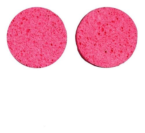 Imagen 1 de 6 de Set 2 Esponjas De Limpieza Facial Celulosa Fascino