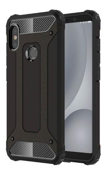 Funda Uso Rudo + Mica Cristal Templado Para Xiaomi