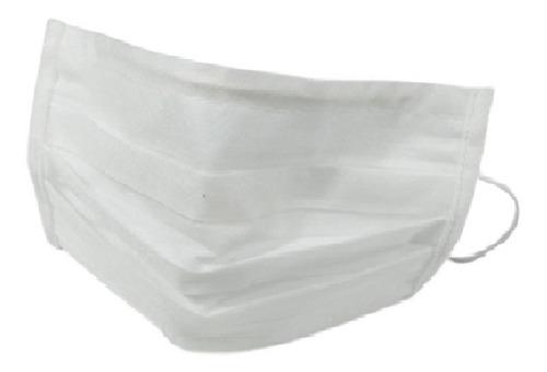 10 Máscaras Tripla Camada Tnt Gramatura 120 Proteção Elástic