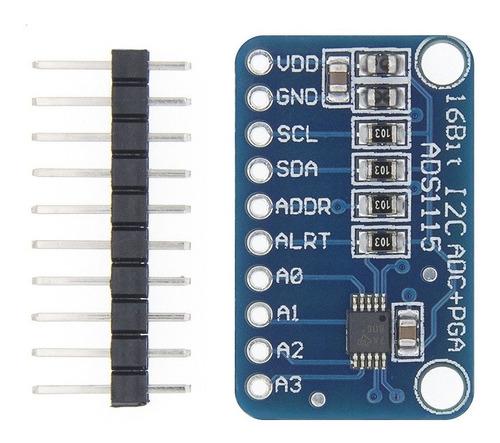 Modulo Adc 4 Canales Ads1115 16bit I2c X03und