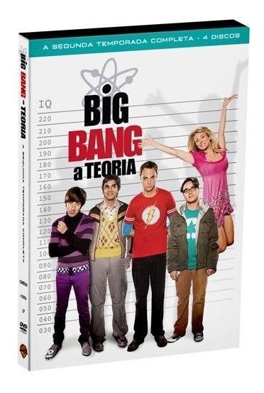 Big Bang A Teoria 2ª Temporada - Box Com 4 Dvds