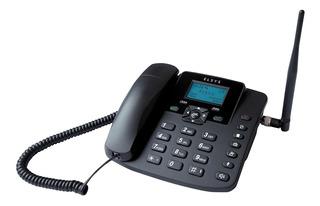 Telefone Celular De Mesa Elsys Epfs12 Rural Bivolt Preto