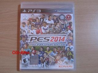 Ps3 - Pro Evolution Soccer 2014 - Nuevo Y Sellado! Fifa Pes