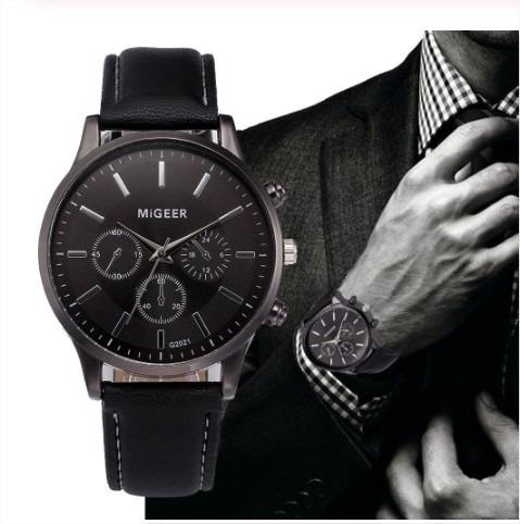 Relógio Masculino Migeer Luxo - Pronta Entrega