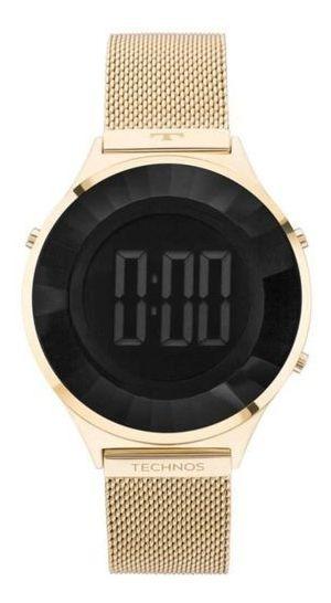 Relógio Technos Feminino Crystal Dourado Bj3851ad/4p