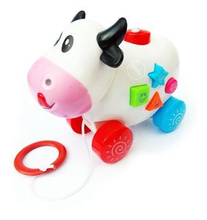 Juguete Vaca Con Música Y Luces Cartoon Animals