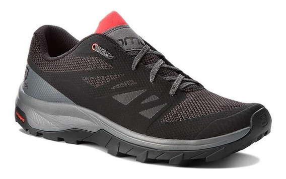 Zapatillas Salomon Outline Ne/gr/rj - Corner Deportes