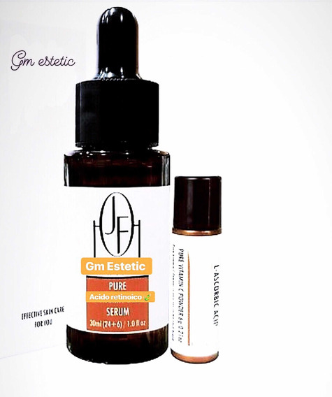 Ácido Retinoico 30 Ml 40% ( Peeling Profissional ) + Tca/ata