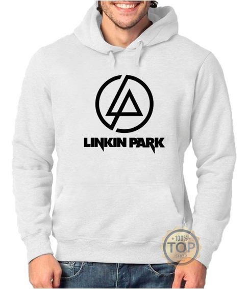 Blusa Linkin Park Moletom Canguru - Personalizada !!!