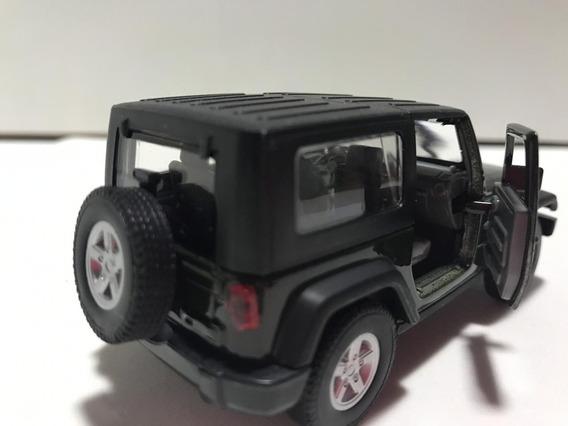 Carrinho Miniatura Jeep Wangler Escala 1/32