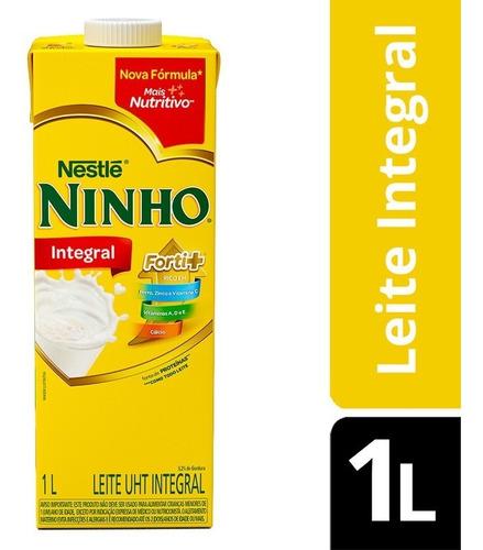 Leite Integral Ninho Caixa Com 12 Unid. 1l