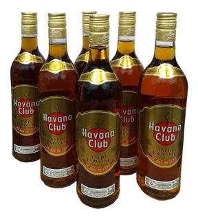 Combo Ron Havana Añejo 6 Botellas Envio Gratis