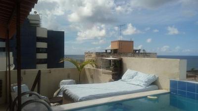 Cobertura Com 4 Quartos À Venda, 170 M² - Costa Azul - Salvador/ba - Co0095