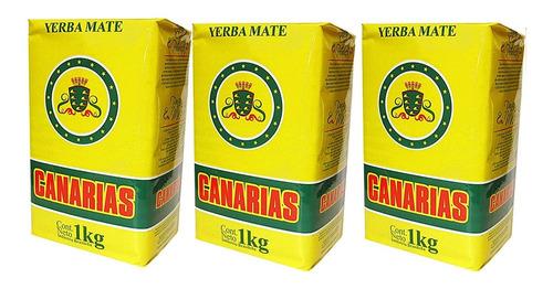 Canarias Yerba Mate 2.2lb (paquete De
