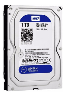 Disco Rígido Western Digital Wd Blue 1tb 7200rpm Mdp