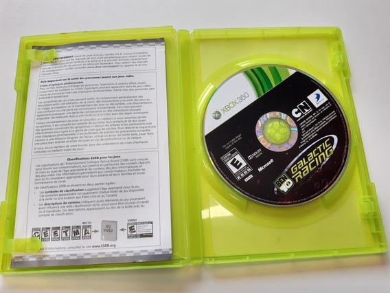 Ben 10 Galacti Racing Xbox 360 Original Mídia Física