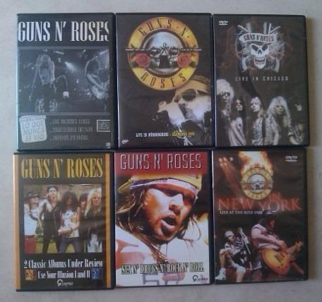 Guns N Roses - Lote De 5 Dvds