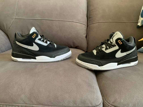 Jordan 3 Black Cement Gold