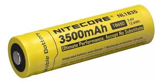 Pila Bateria 18650 Nitecore Litio Recarcable 3500ma/h