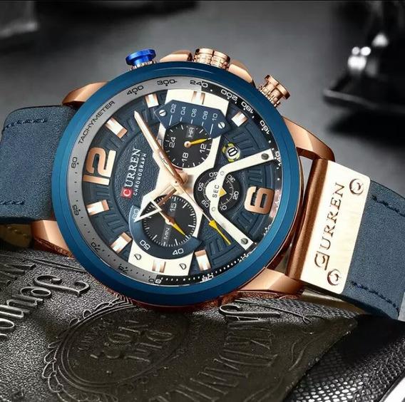 Lançamento 2019 Relógio Masculino Cronógrafo Curren Barato