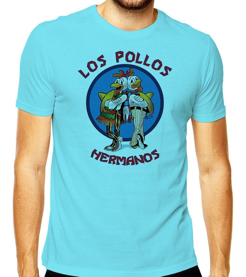 Camiseta Los Pollos Hermanos Breaking Bad Heisenberg Pollos