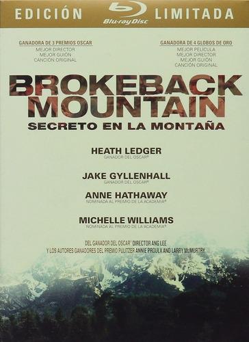 Secreto En La Montaña Blu Ray Edicion Limitada Película