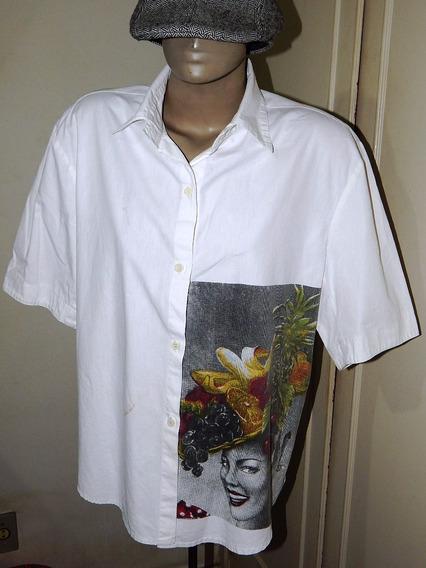 Camisa Exclusiva Evandro Jr Rio - Carmem Miranda