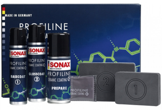 Kit Vitrificador Profiline Ceramic Coating - Cc36 - Sonax