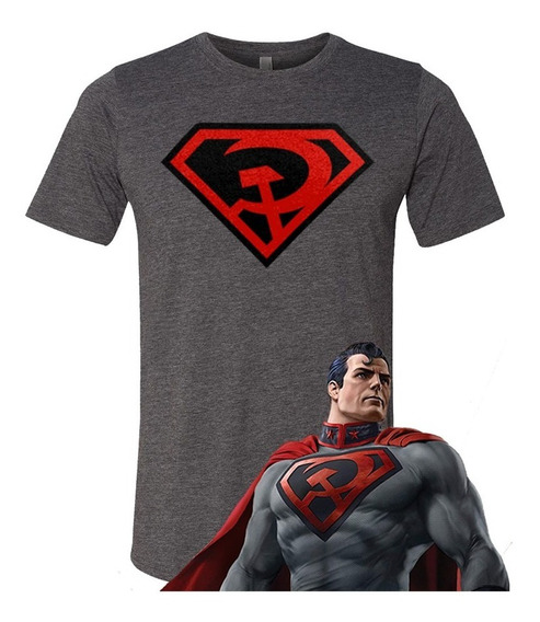 Playera Superman Red Son No Joker