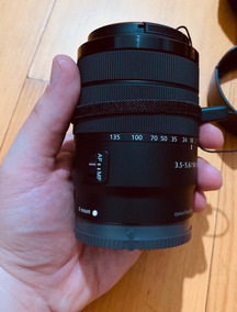 Lente Sony E 18-135mm F/3.5-5.6 Oss (só Lente) +frete Gratis