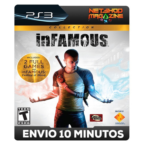 Infamous: Collection - 1, 2 E Festival Of Blood - Psn