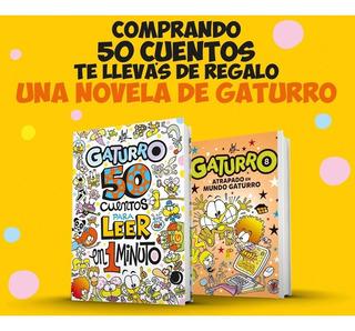50 Cuentos Para Leer En 1 Minuto + Regalo - Gaturro - Nik