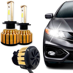 Kit Super Ultra Led Gold Automotivo 9000 Lumens 6000k 12-24v