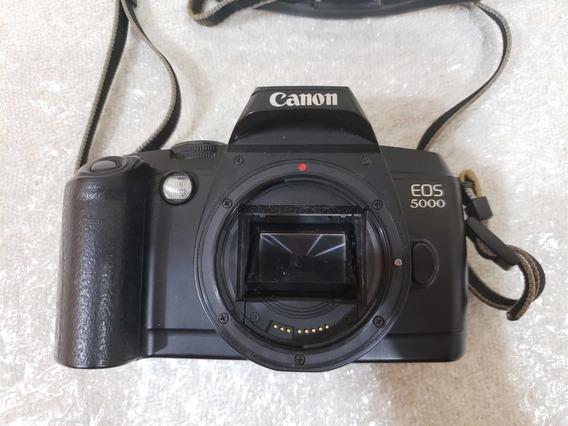 Câmera Canon Eos 5000 Analógica Filme 35mm Leia O Anuncio