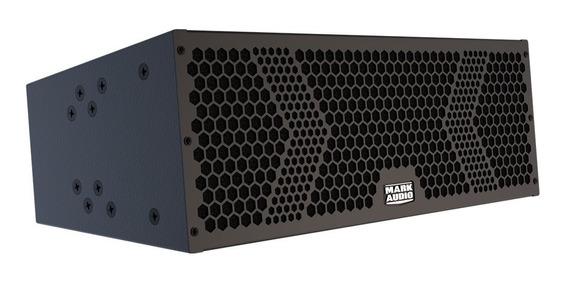 Caixa Pa 6 Polegadas Duplo Ativa Line Mark Audio Vmk6 Preta