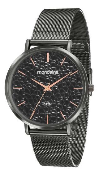 Relógio Feminino Mondaine Cinza 53764lpmvse1