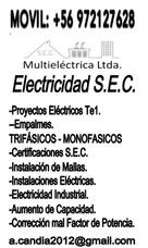 Electrico, Electricista, Sec, Te1, Proyecto, +56972127628