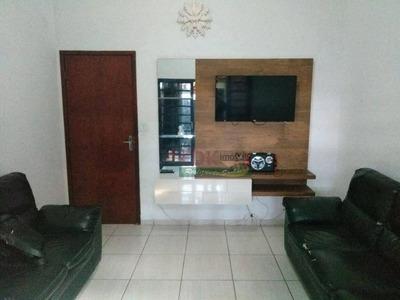 Casa Com 2 Dormitórios À Venda, 125 M² Por R$ 223.000 - Parque Santo Antônio - Taubaté/sp - Ca2138