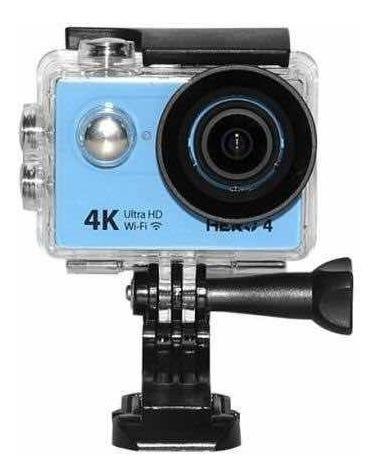 Câmera De Ação Goal Pro Hero 4 Azul