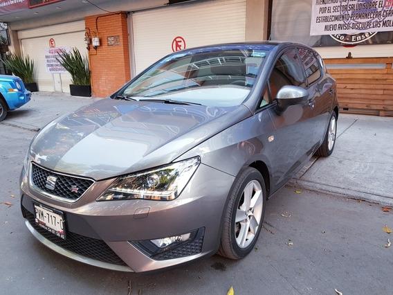 $$35,800 Enganche Ibiza Fr 2016 1.2 Turbo Pm Un Solo Dueño