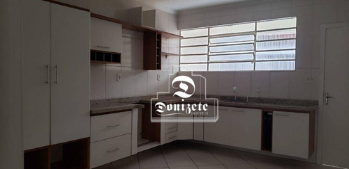 Sobrado Com 3 Dormitórios Para Alugar, 140 M² Por R$ 3.200,00/mês - Jardim - Santo André/sp - So2941