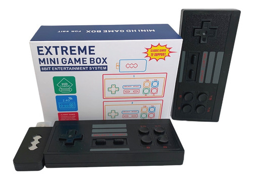 Consola Clasica Inalámbrica 600 Videojuegos Retro Contra